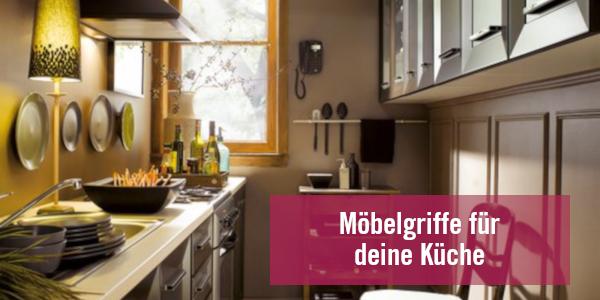 Möbelgriffe für die Küche – Große Auswahl an Küchengriffen bei LGM Beschlag