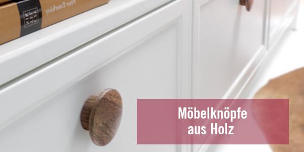 Möbelknöpfe aus Holz – Große Auwahl an Holzmöbelknöpfen bei LGM Beschlag