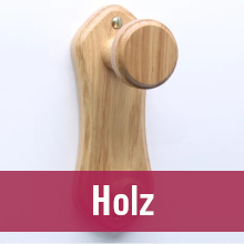 Kleiderhaken – Material Holz