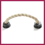 Spezielle Möbelgriffe – Nahaufnahme Schnur-Möbelgriff