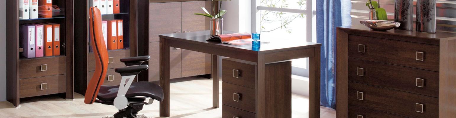 Möbelknöpfe – Büromöbel mit eckigen Möbelknöpfen