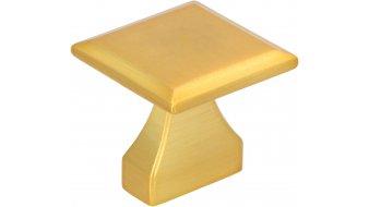 Möbelgriff Olm, Vintage Druckguss gold matt gebürstet | 0032x30x32 LA:16