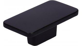 Möbelknopf Dissen, Schlicht,  Modern Zinkdruckguß pulverbeschichtet - Schwarz matt | 0058x33x22