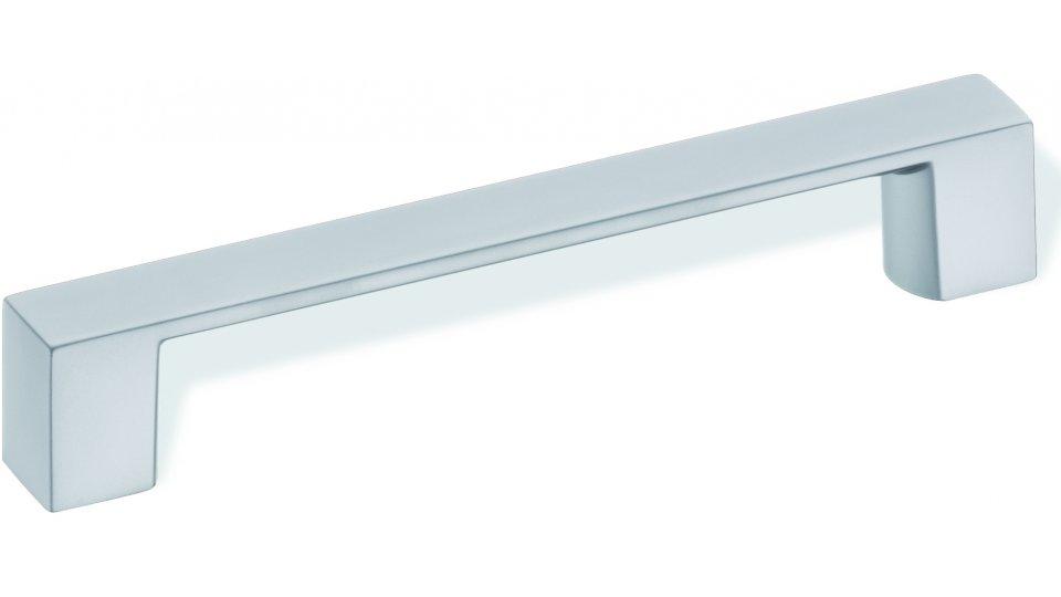 Design-Bügelgriff Blankenfelde-Mahlow Zamak verchromt matt | 0160x27x20 LA:128