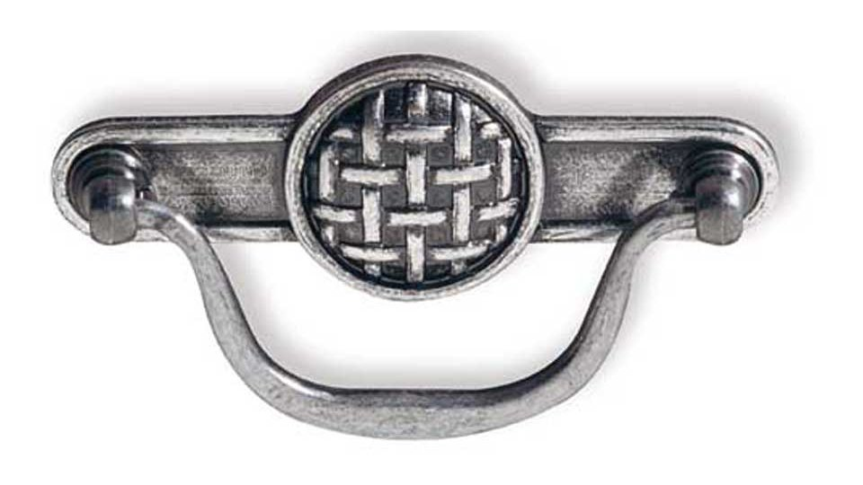 Hängegriff Hamminkeln, Design Zinkdruckguß - Altsilberfarbig | 115x61x19 LA:96
