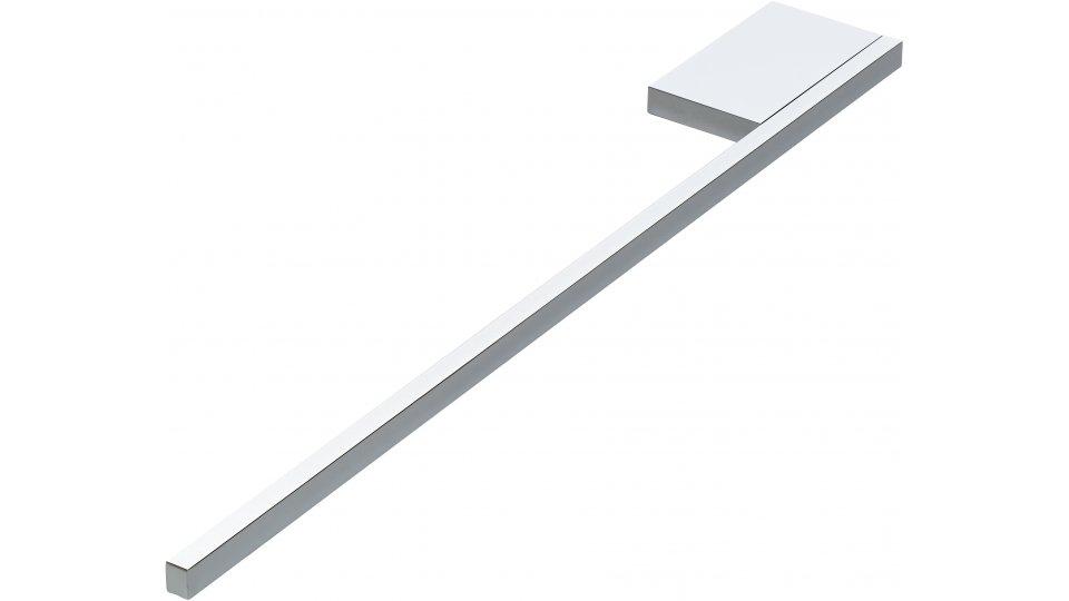 Handtuchhalter Freilassing, Modern Aluminium chrom glänzend | 0380x50x10 LA:48