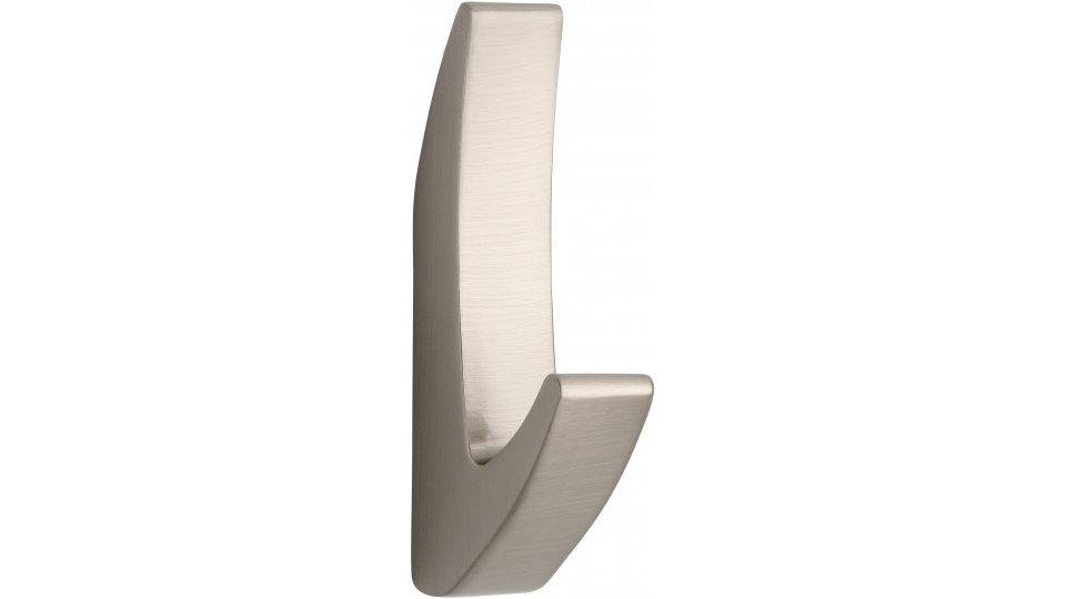 Kleiderhaken Altenbeken, Modern,  Design Zinkdruckguß - Vernickelt feingeschliffen | 0081x15x40 LA:32