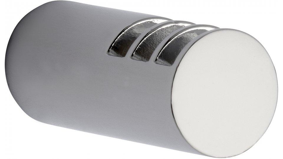 Kleiderhaken Olsberg, Modern Zinkdruckguß - Chrom glänzend | 16x16x40