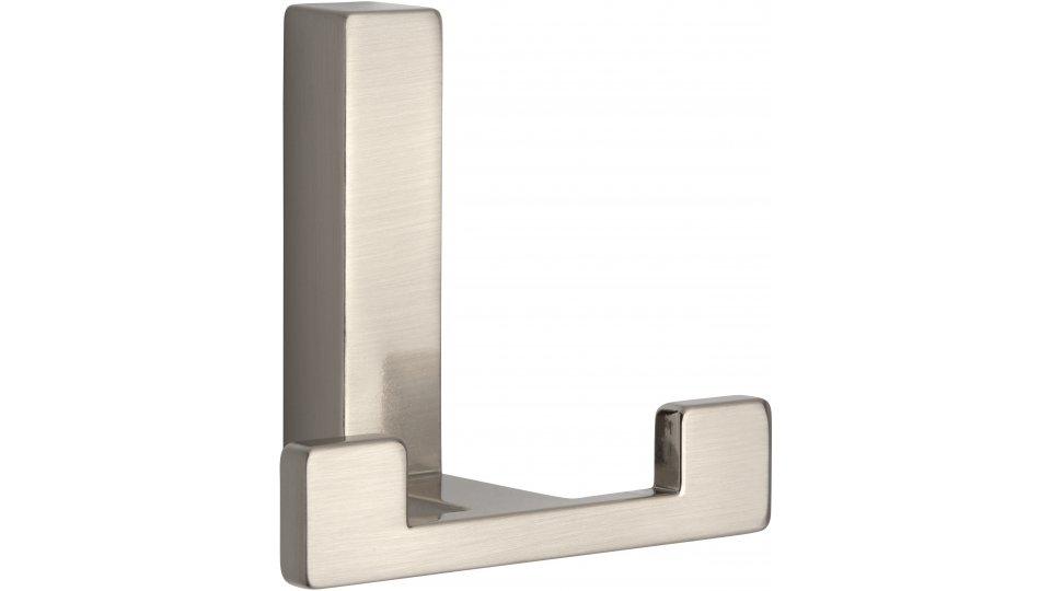 Kleiderhaken Rheinau, Modern,  Design Zinkdruckguß - Vernickelt feingeschliffen | 60x70x40 LA:31