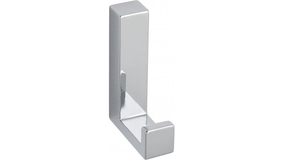 Kleiderhaken Salzhemmendorf, Modern,  Design Zinkdruckguß - Chrom glänzend | 60x15x40 LA:31