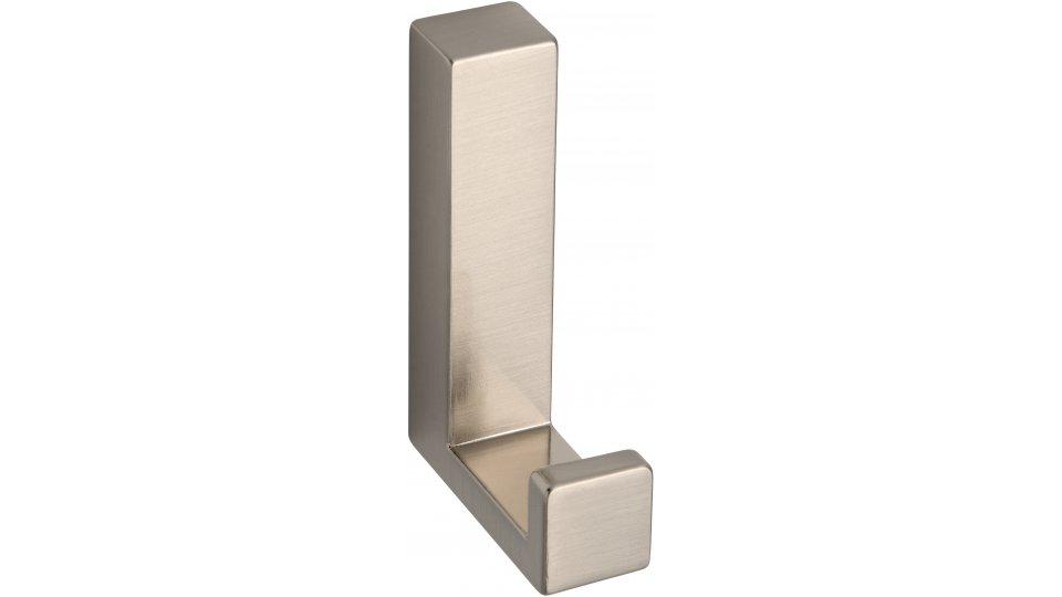 Kleiderhaken Salzhemmendorf, Modern,  Design Zinkdruckguß - Vernickelt feingeschliffen | 60x15x40 LA:31