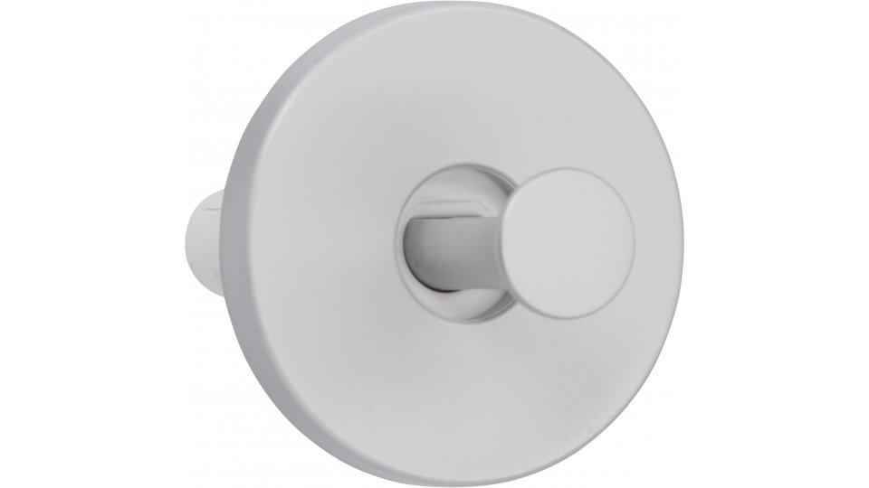 Kleiderhaken Schwabmünchen, Schlicht Kunststoff - Alufarbig   56x56x33 LA:42