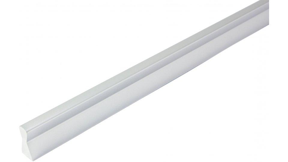 Möbelgriff Ammersbek, Design,  Modern Kunststoff metallisiert - Chrom | 400x10x20 LA:160 x 2