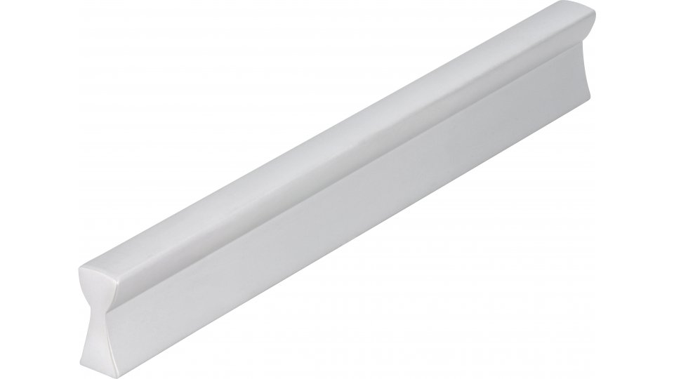 Möbelgriff Bad-Segeberg, Schlicht Aluminium silber natur matt | 0148x20x9 LA:128