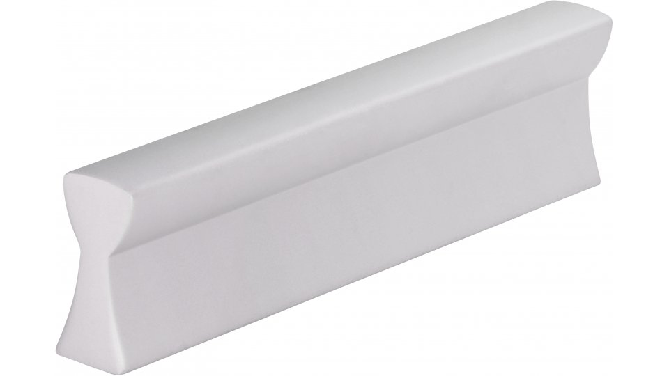 Möbelgriff Bad-Segeberg, Schlicht Aluminium silber natur matt   0084x20x9 LA:64
