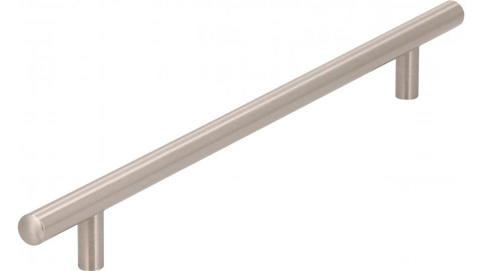 Möbelgriff Bruchsal, Schlicht Zinkdruckguß - Vernickelt feingeschliffen | 320x12x32 LA:240