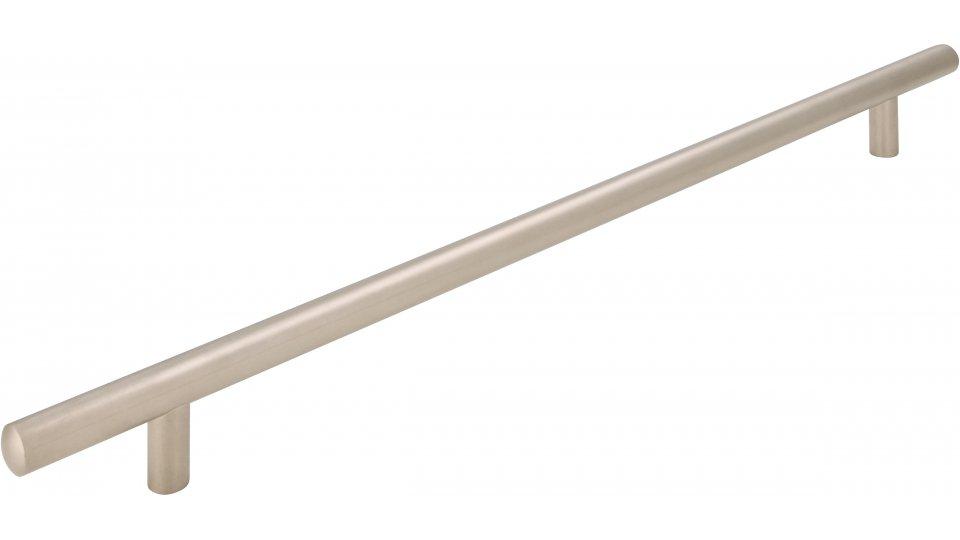 Möbelgriff Bruchsal, Schlicht Stahl matt vernickelt | 0368x32x12 LA:288