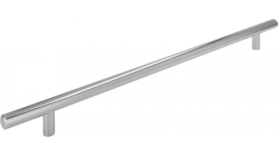 Möbelgriff Bruchsal, Schlicht Stahl chrom glänzend | 0368x32x12 LA:288