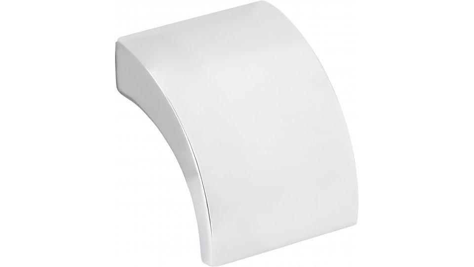 Möbelgriff Döbeln, Schlicht Zinkdruckguß - Chrom glänzend | 30x30x24 LA:16