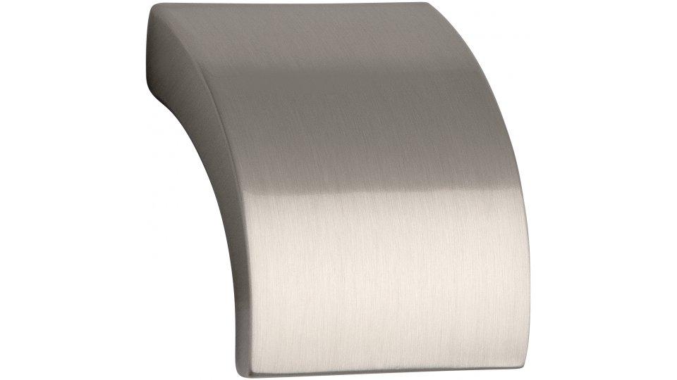 Möbelgriff Döbeln, Schlicht Zinkdruckguß - Vernickelt feingeschliffen | 30x30x24 LA:16