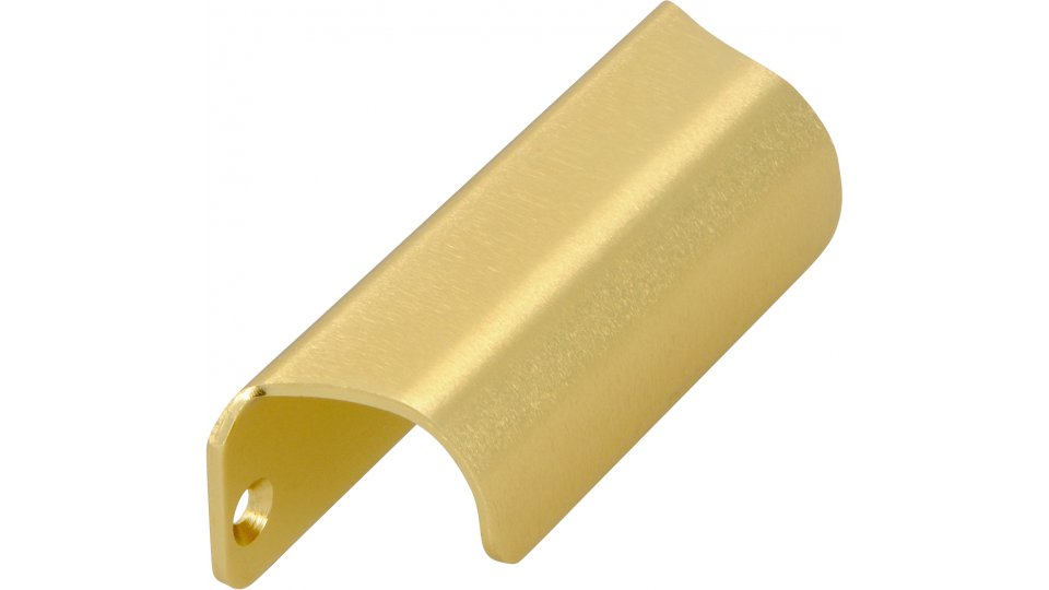 Möbelgriff Friedberg, Schlicht Aluminium gold matt | 0090x27x25 LA:80