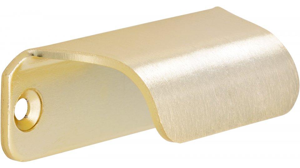 Möbelgriff Friedberg, Schlicht Aluminium gold matt | 0060x27x20 LA:50