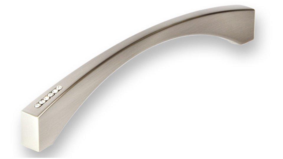 Möbelgriff Gehrden, Modern Druckguss vernickelt feingeschliffen swarovski® kristalle | 0173x31x12 LA:160