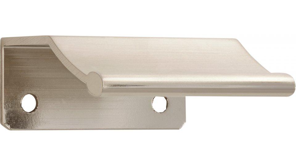Möbelgriff Gilching, Schlicht Aluminium vernickelt feingeschliffen | 0045x50x20 LA:32