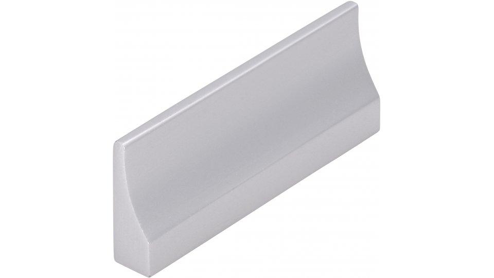 Möbelgriff Husum, Schlicht Aluminium silber natur matt | 0052x20x7 LA:32