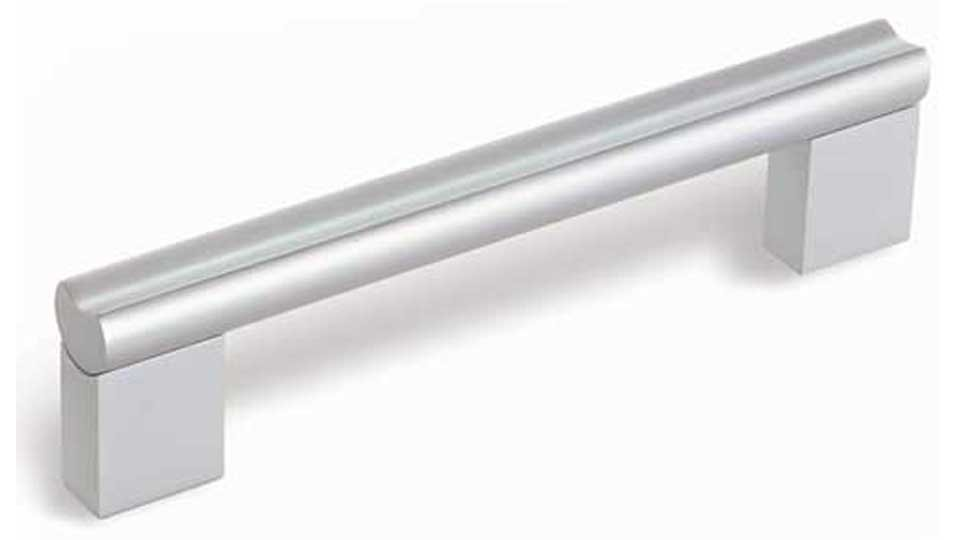 Möbelgriff Karben, Schlicht Aluminium silber natur matt | 0159x38x16 LA:128