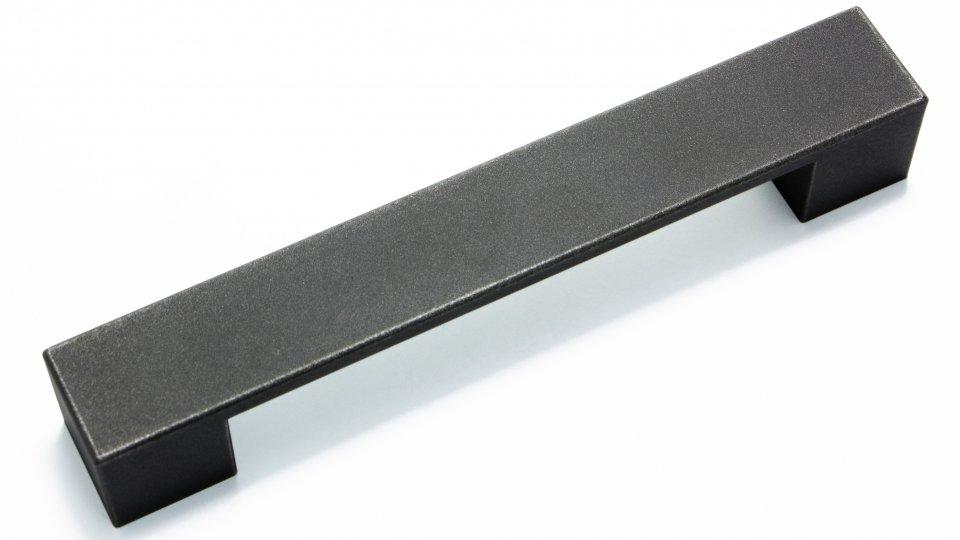 LGM-Beschlag M/öbelgriff Kirkel LA 128 mm Kunststoff metallisiert Modern chrom 11380 164 mm x 25 mm x 25 mm