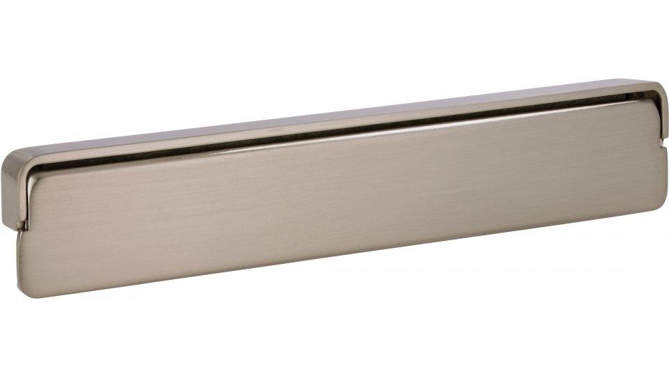 Möbelgriff Mayen, Schlicht Zinkdruckguß - Vernickelt feingeschliffen | 160x30x12 LA:128