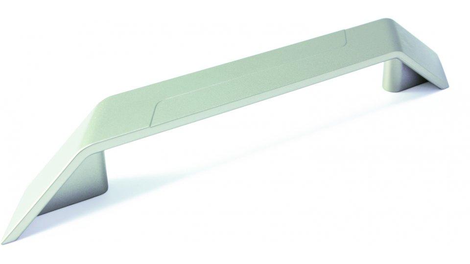 Möbelgriff Merzenich, Design,  Modern Kunststoff metallisiert - Nickel | 200x26x26 LA:128