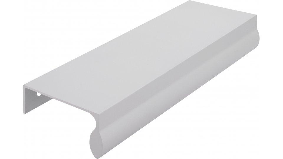 Möbelgriff Oberkirch, Schlicht Aluminium silber natur matt | 0148x50x23 LA:128