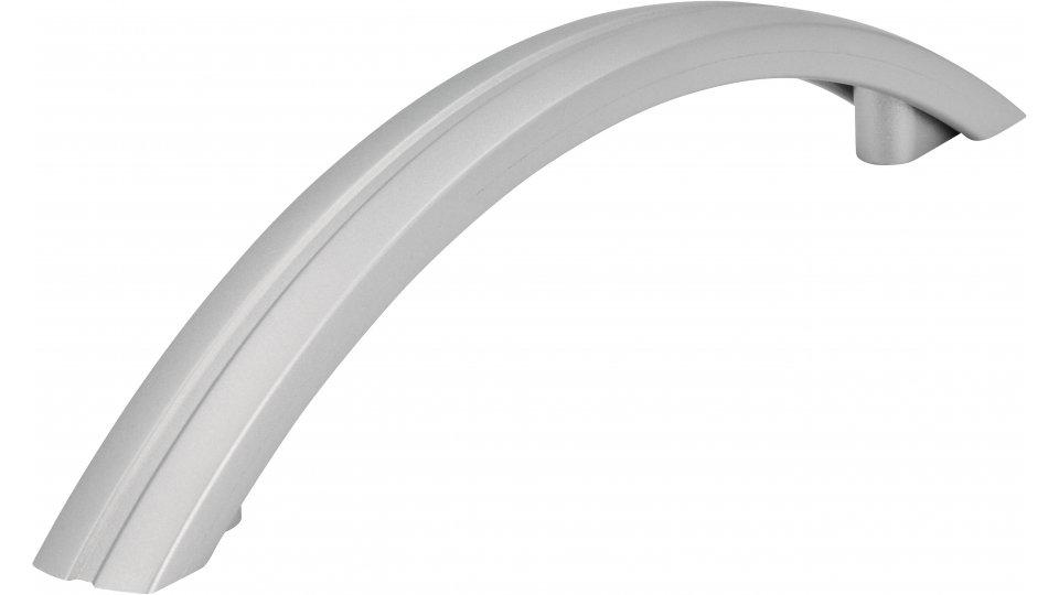 Möbelgriff Reisa, Schlicht Kunststoff metallisiert weißaluminium | 0167x32x15 LA:128