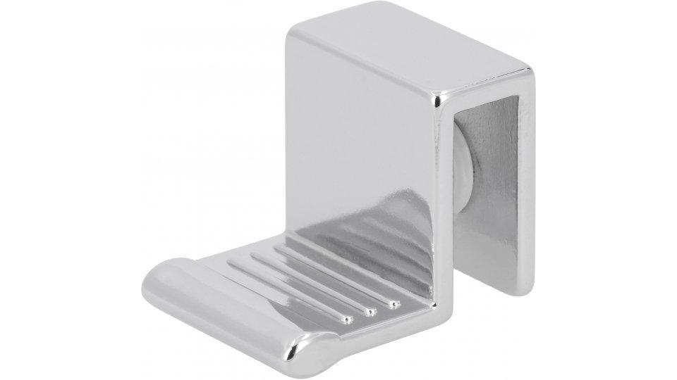 Möbelgriff Spenge, 2 Stück,   Schlicht Druckguss chrom glänzend weiß 2 stück | 0027x21x20