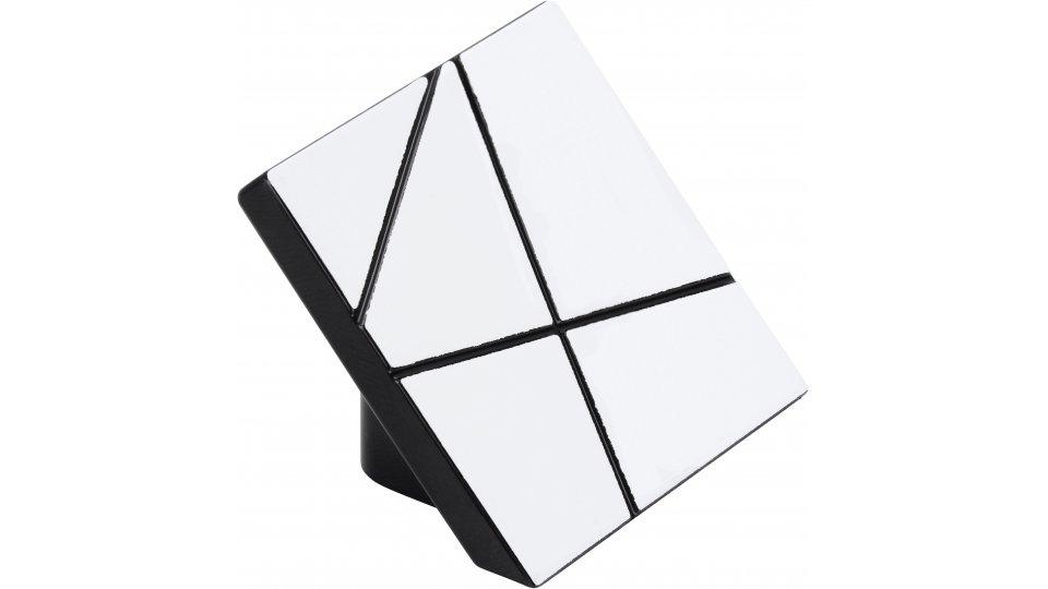 Möbelgriff Wedel, Design, Modern, Kunststoff - Schwarz 728940