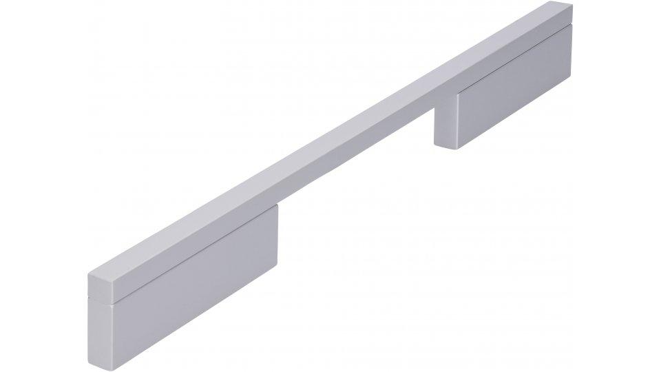 Möbelgriff Wendlingen, Modern Aluminium silber natur matt | 0252x29x10 LA:128 und 224