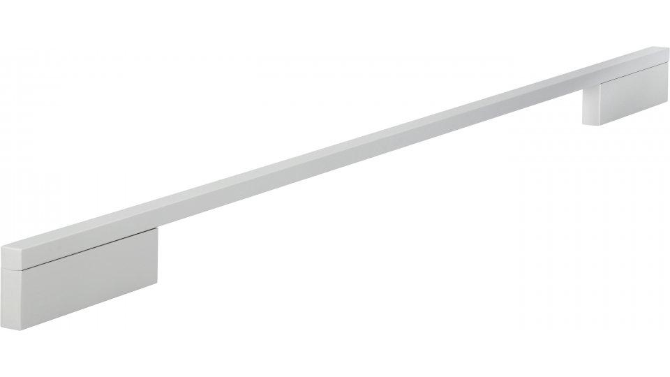 Möbelgriff Wendlingen, Modern Aluminium silber natur matt | 0508x29x10 LA:384 und 480