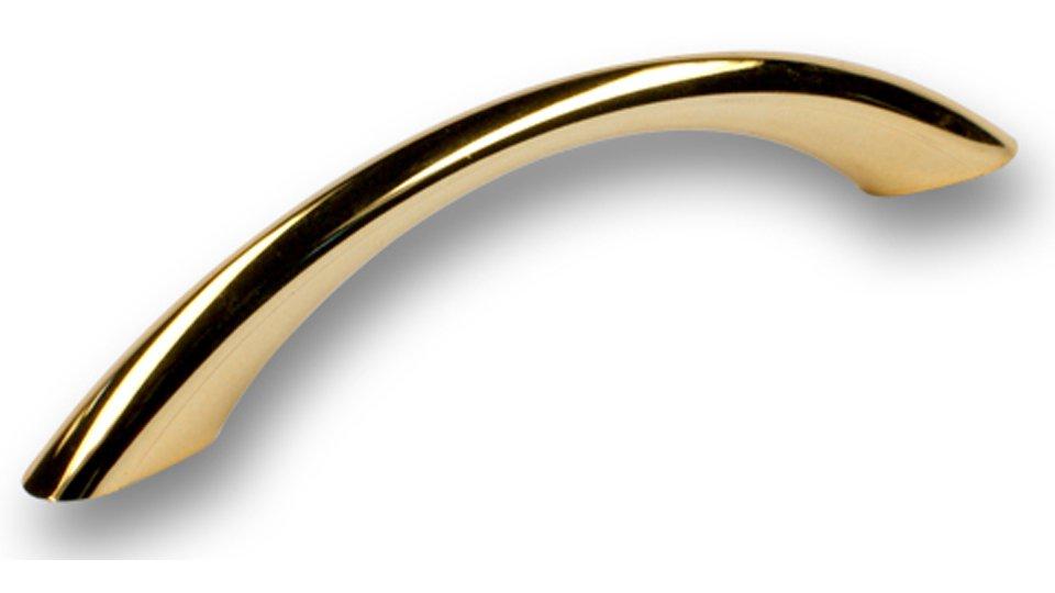 Möbelgriff Werder, Modern Kunststoff metallisiert - Gold glänzend | 134x11x28 LA:96
