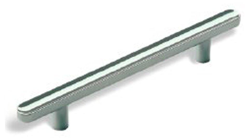 Möbelgriff Wernigerode, Schlicht Zinkdruckguß - Chrom glänzend | 146x11x22 LA:96