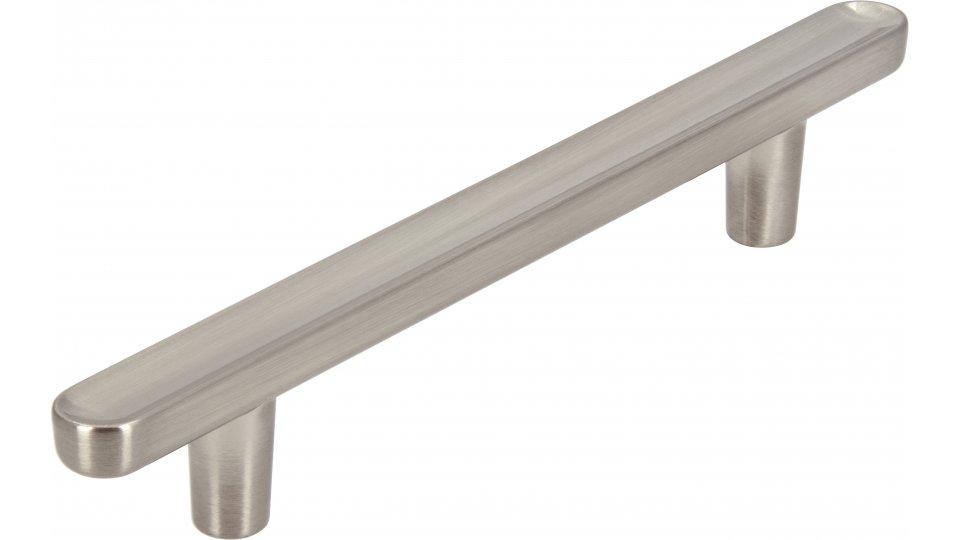 Möbelgriff Wernigerode, Schlicht Zinkdruckguß - Vernickelt feingeschliffen | 146x11x22 LA:96