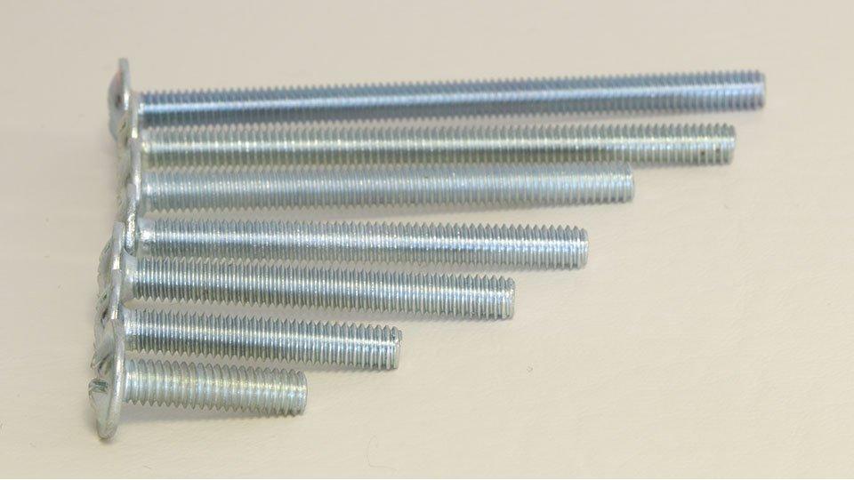 Möbelgriffschraube M4 Stahl Verzinkt - galvanisiert | 0040x4x4