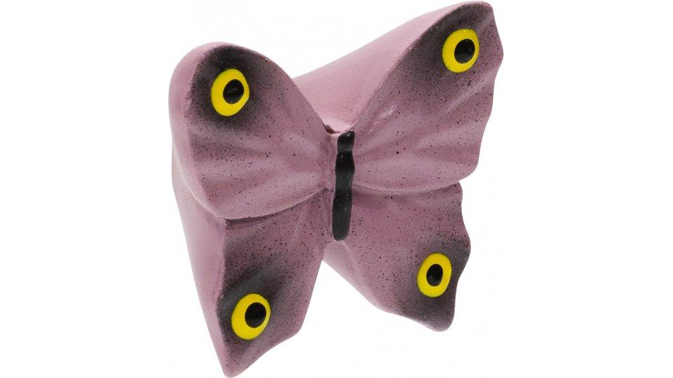 Möbelknopf Füssen, Tier,  Schmetterling,  Kinder Kunststoff bunt   0041x26x45