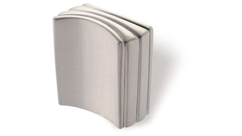 Möbelknopf Mosbach, Design Druckguss vernickelt feingeschliffen | 0026x27x14