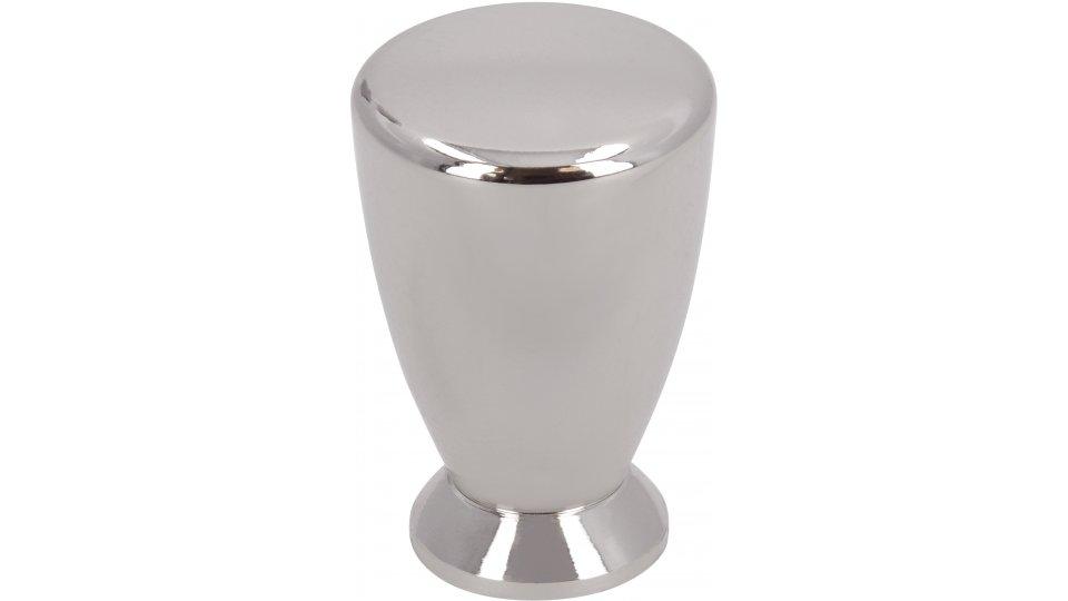 Möbelknopf Radeberg, Design Druckguss nickel glänzend | 0018x27x18