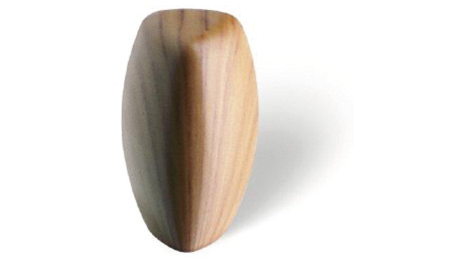 Möbelknopf Rüsslesheim, Design Kunststoff holzeffekt kirschfarbig | 0018x30x18