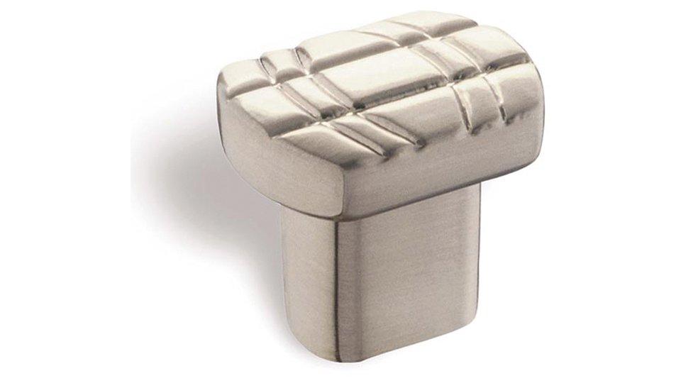 Möbelknopf Werdau, Design Zinkdruckguß - Vernickelt feingeschliffen | 26x20x24