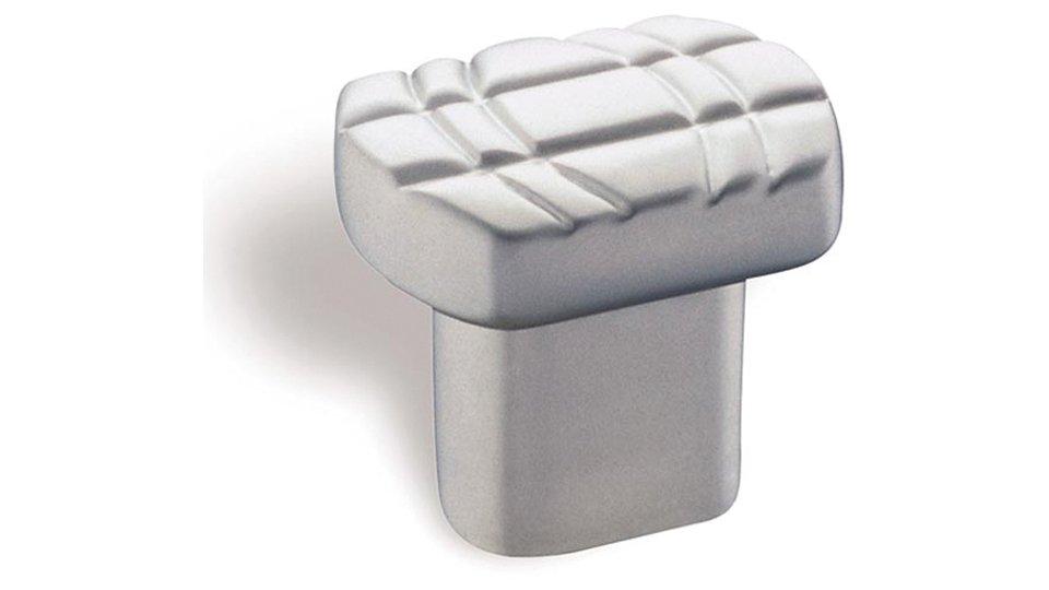 Möbelknopf Werdau, Design Zinkdruckguß - Chrom matt | 26x20x24