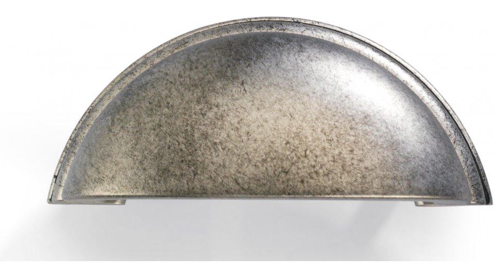 Muschelgriff Twist, Vintage Kunststoff - Vintageeffekt | 95x40x35 LA:64
